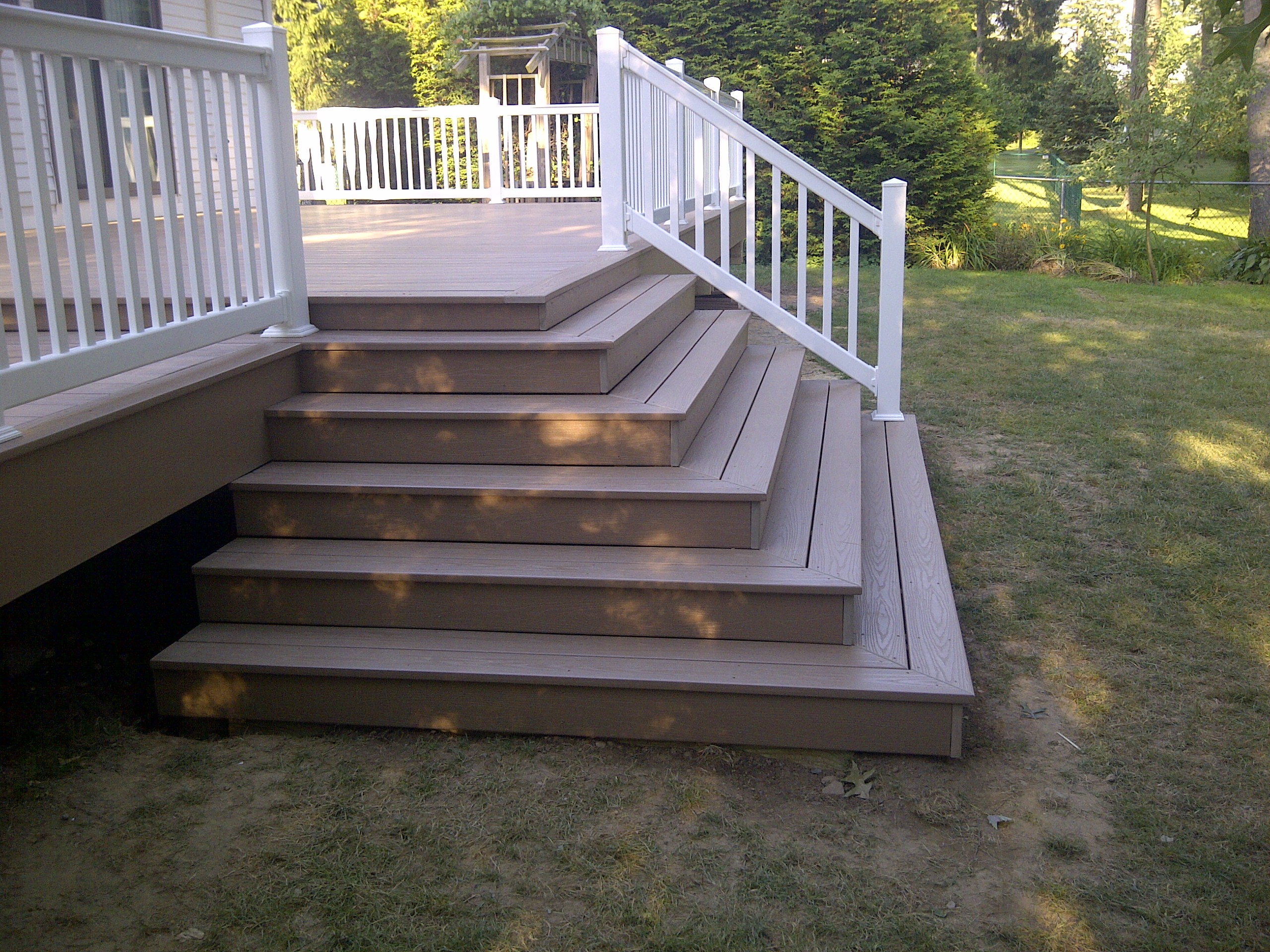 Porch Steps After
