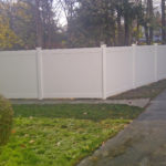 New Hartford Fence Project Side Wall