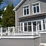 Waterfront Aluminum Verticable Railing in North Bay, NY