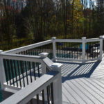 New Deck, Railing, and Fence in Marcy, NY