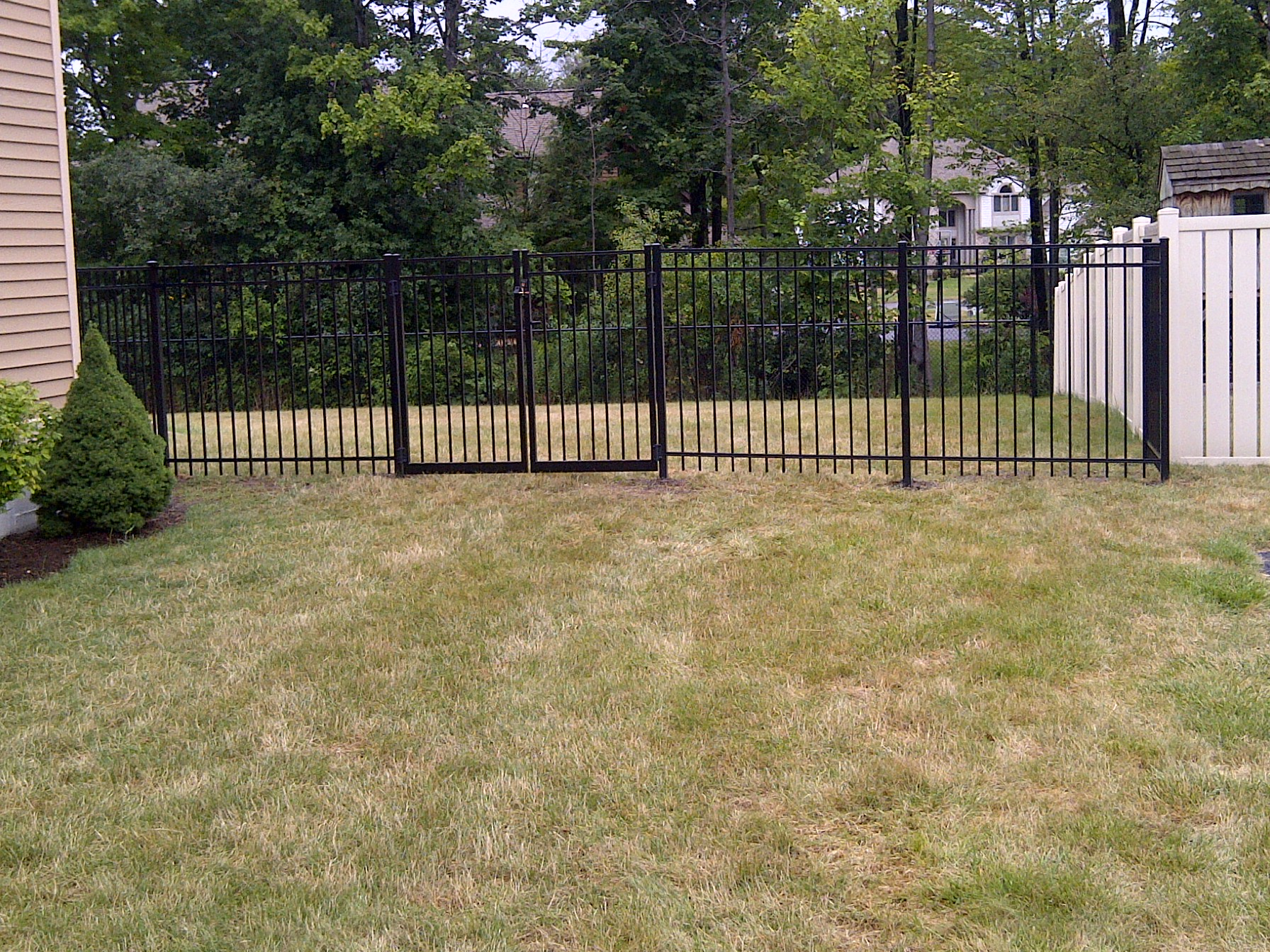 Deer Fence Install In New Hartford Ny Poly Enterprises