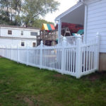 New Hartford Vinyl Picket Fence